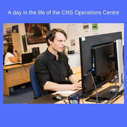 A day in the life of the CNS Operations Centre